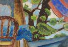 Gabriele Münter - Blick in den Garten (In meinem Garten in Murnau)
