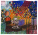 Ida Kerkovius - Ohne Titel (Figur mit Kind im Garten)