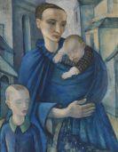 Anita Rée - Blaue Frau