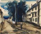 Maurice de Vlaminck - Vue d'une rue