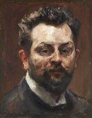 Max Slevogt - Selbstporträt