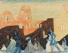 Lyonel Feininger - Untitled (Promenade)