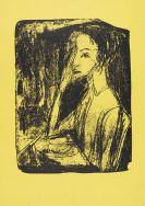 Ernst Ludwig Kirchner - Bildnis Frau Nelly Fehr