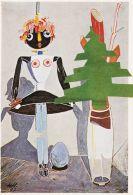 Hannah Höch - Balsamine mit Tannenbaum