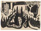 Werner Heldt - Komposition vor Stadt