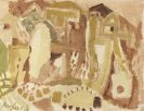Eduard Bargheer - Tunesische Landschaft