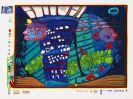 Friedensreich Hundertwasser - Flucht ins All