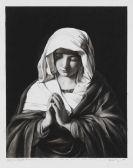 Robert Longo - Die Jungfrau Maria im Gebet