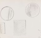 Lichtenstein, Roy - Sketches for Mirror Paintings