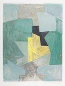 Serge Poliakoff - Composition bleue