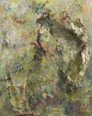 Bernard Schultze - Alte Blumen-Jungfer - verhext ist die Stunde