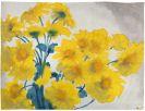 Nolde, Emil - Gelbe Blüten (Rudbeckia)