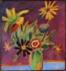 Alexej von Jawlensky - Bunte Blumen