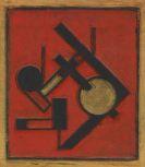 Erich Buchholz - Winkel mit Goldkreis (PLT 082)