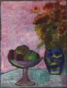 Alexej von Jawlensky - Stillleben mit Fruchtschale und Blumenvase