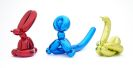 Jeff Koons - Balloon Swan (Yellow). Balloon Rabbit (Red). Balloon Monkey (Blue)