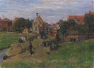 Friedrich Kallmorgen - Heuernte (Holland)