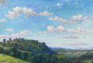 Melchior Lechter - Sommerliche Landschaft im Spessart