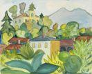 Hermann Hesse - Aquarell - Mein Dorf