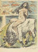 Lovis Corinth - Der Venuswagen