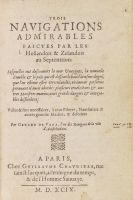 Gerrit de Veer - Trois navigations admirables
