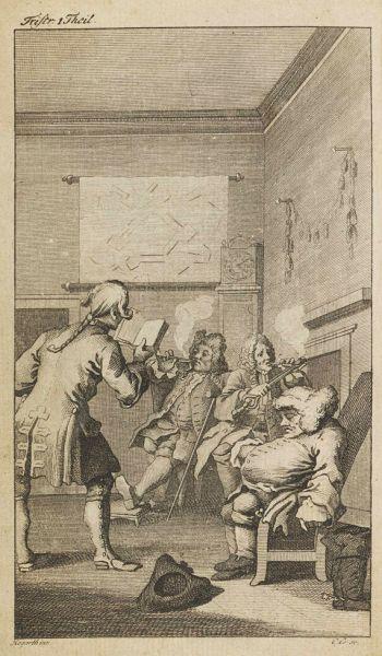 Laurence Sterne - Tristram Schandis. 9 in 4 Bänden