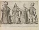 Bruyn, Abraham de - Omnium pene Europae .... Trachtenbuch - 2 Beigaben