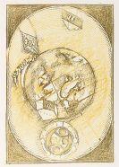 Max Ernst - 3 Werke - Carrolls Wunderhorn, Judith, Heisenberg