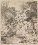 Harmensz. Rembrandt van Rijn - Abrahams Opfer