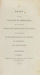 Thomas Robert Malthus - An Essay on the Principle of Population
