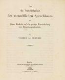 Wilhelm von Humboldt - Über die Verschiedenheit des menschlichen Sprachbaues