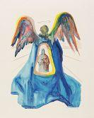 Salvador Dalí - Dante, Divina commedia. 3 Teile in 6 Bänden
