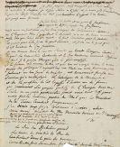 Friedrich II. der Große - Brief an Voltaire