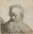 Rembrandt van Rijn, Harmenszoon - Bärtiger Greis