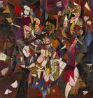 Rudolf Schlichter - Zerrissene Welt (Abstraktion)