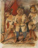 Otto Dix - Drei Weiber