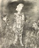 Jean Dubuffet - Promeneur au regard pâle