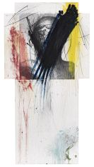 Arnulf Rainer - Fingermalerei - Kreuzübermalung