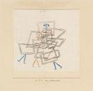 Paul Klee - Drei in Verworrenheit