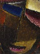 Alexej von Jawlensky - Kleiner abstrakter Kopf