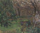 Oskar Moll - Jardin du Luxembourg II