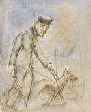 George Grosz - Blinder Krüppel (Cripple)