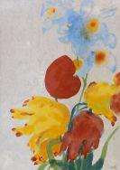 Emil Nolde - Tulpen und Iris