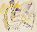 Ernst Ludwig Kirchner - Nacktes Paar