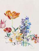 Oskar Kokoschka - Frühlingsblumen