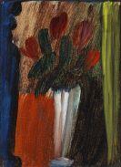 Alexej von Jawlensky - Stillleben (Blumen in weißer Vase)