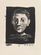 Pablo Picasso - Tête de Jeune Garçon