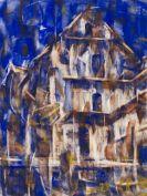 Christian Rohlfs - Tessiner Häuser I