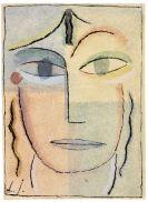 Alexej von Jawlensky - Weiblicher Kopf