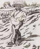 Ernst Ludwig Kirchner - Der Sämann (Säender Bauer)